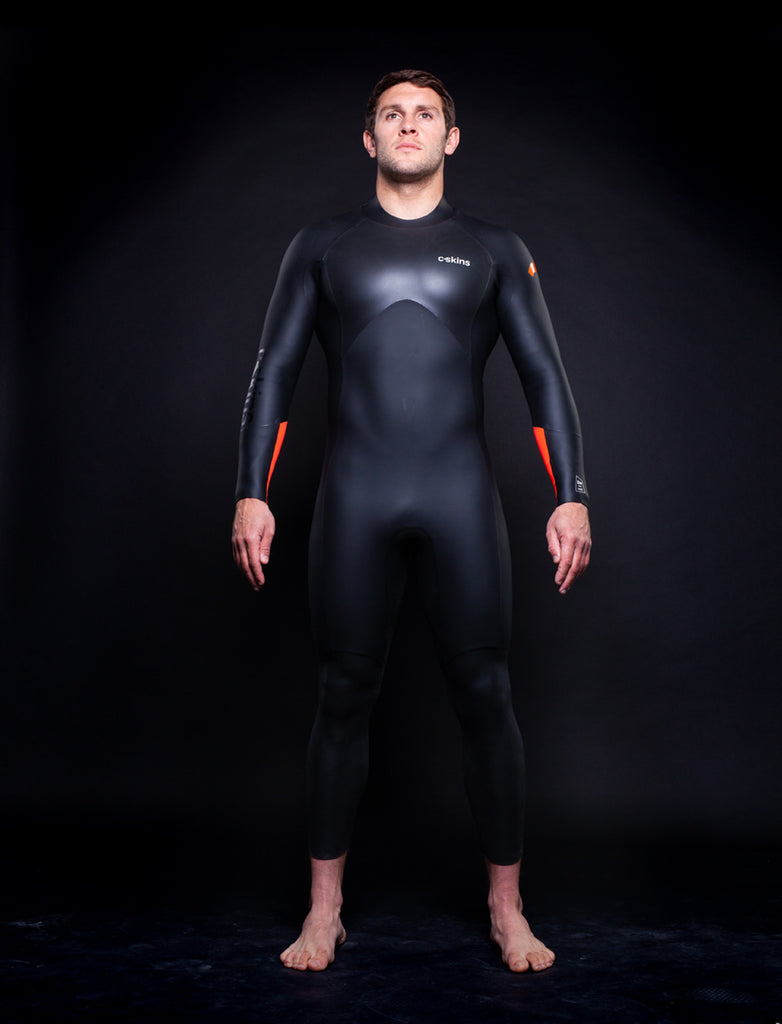 SWIM RESEARCH C-Skins Swim Research 4:3 Mens GBS BZip Steamer