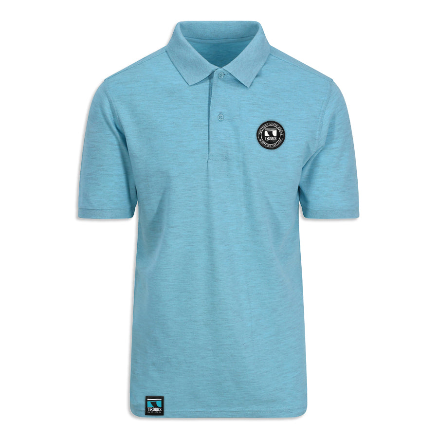 Troggs Surf Polo Shirt Blue
