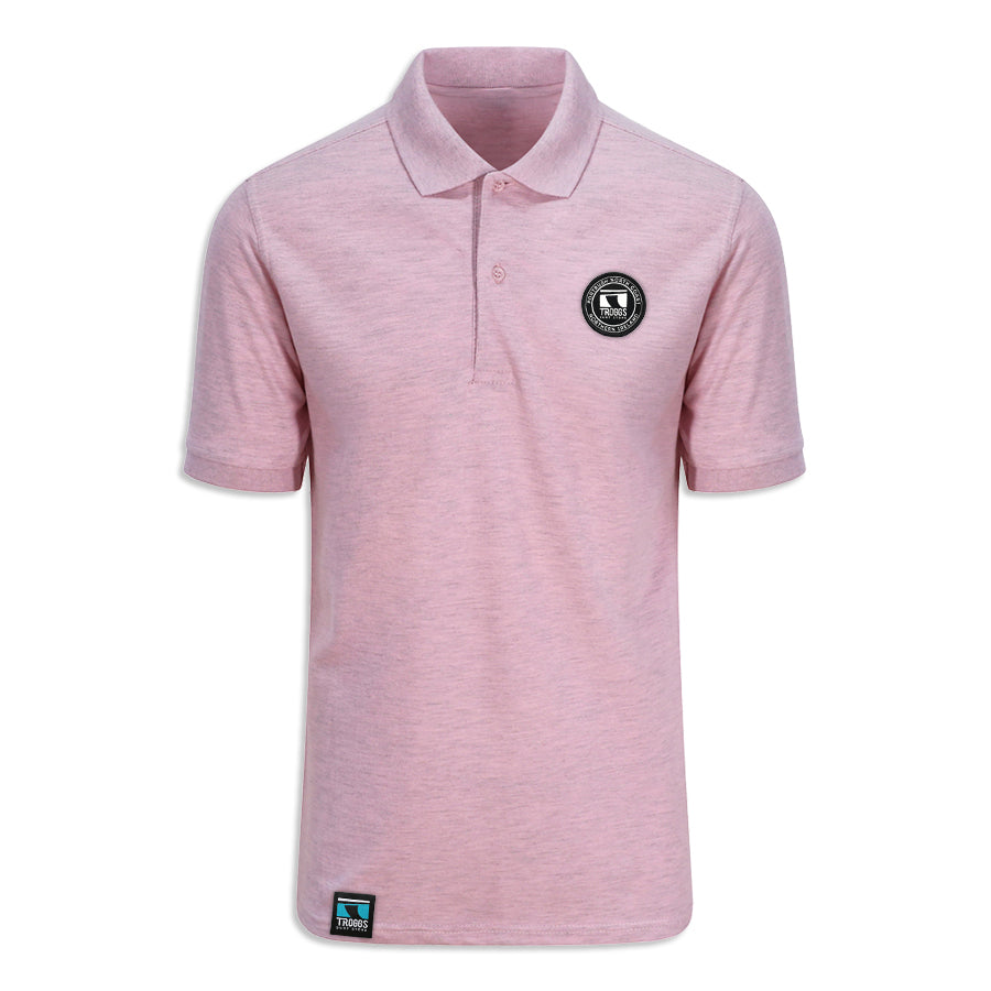 Troggs Surf Polo Shirt Pink