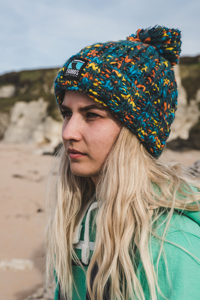 Troggs Twist  Knit Beanie Retro