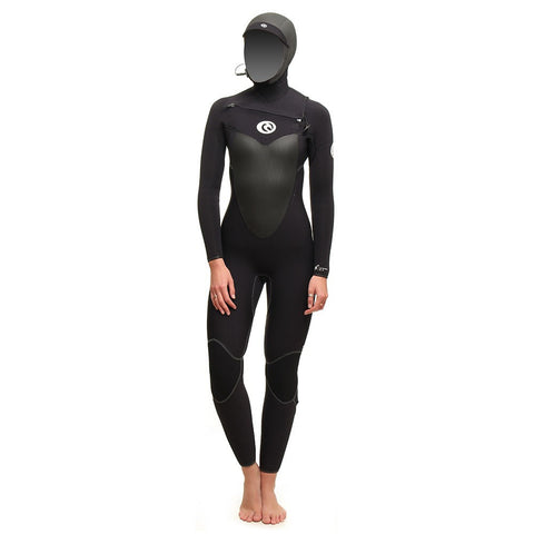 Rip Curl Ladies Flashbomb Hood 5/4 C/Zip
