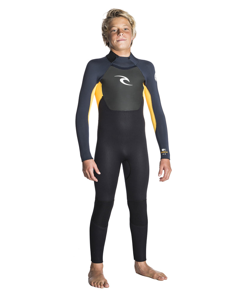 Rip Curl Junior Omega 5/3 Wetsuit Slate Orange