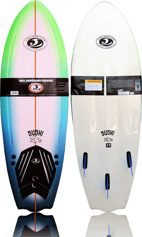 CBC 5'8 Sushi Fish Softboard - White