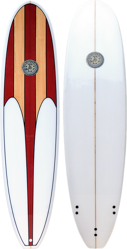Hawaiian Soul 9'0 Mal Wood Veneer HS068