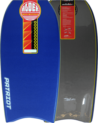 "Alder 44"" Patriot Bodyboard - Dark Blue"
