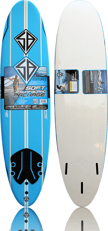 Scott Burke 7'6 Softboard