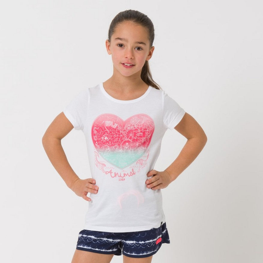 Animal Abella Girls Tee