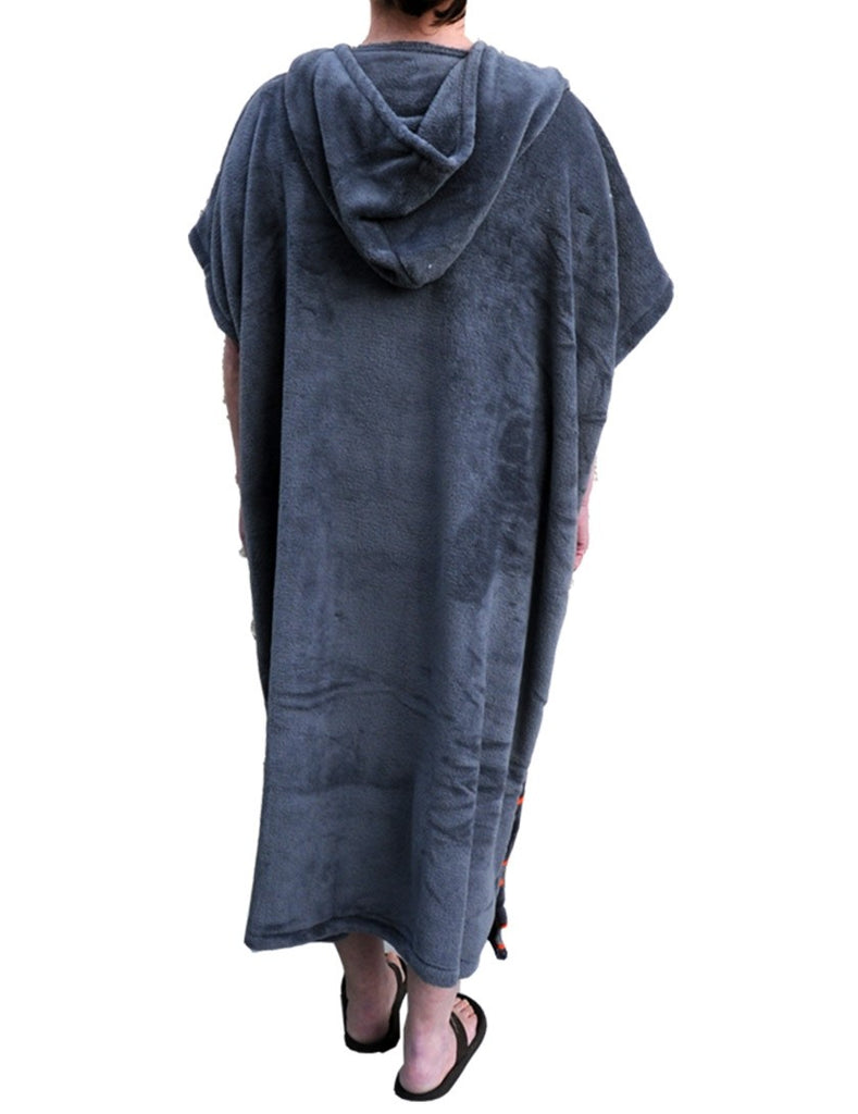 Alder Fleece Poncho Adult Grey