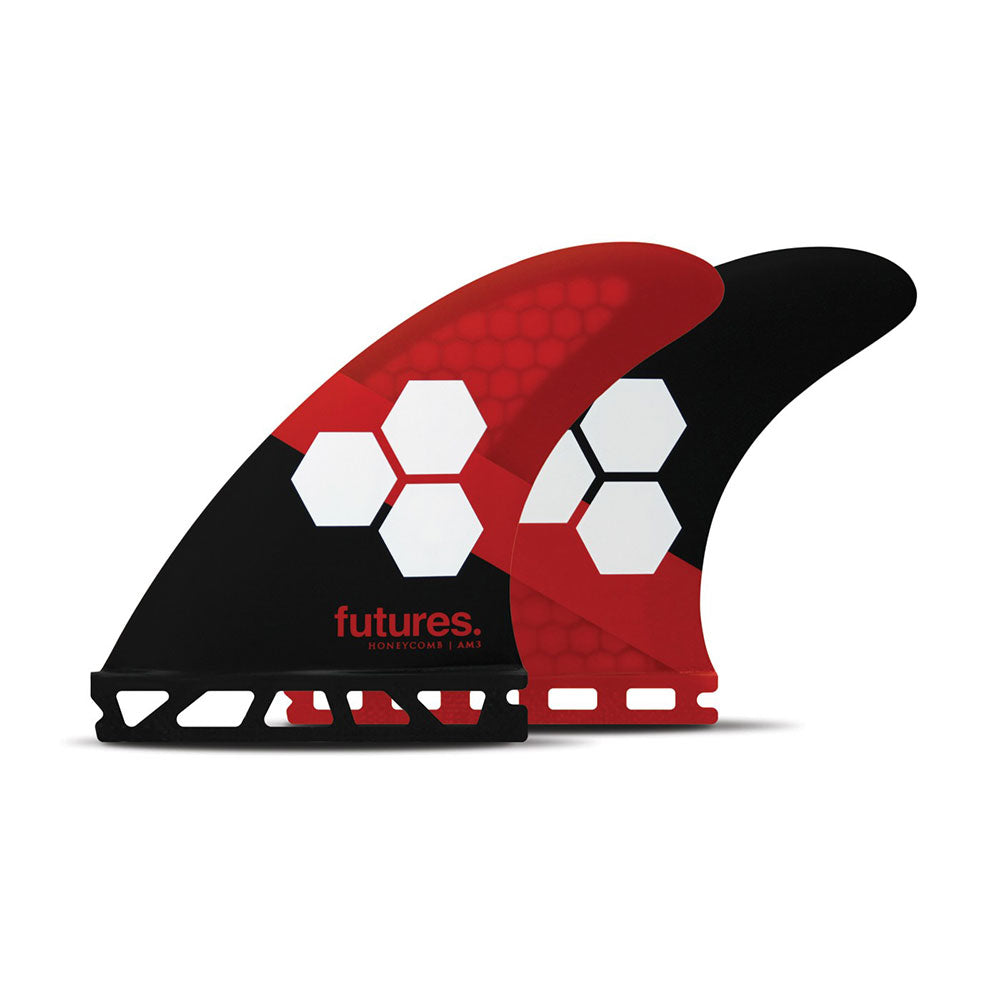 Futures AM3 HC Thruster - Red/Black - Size Small