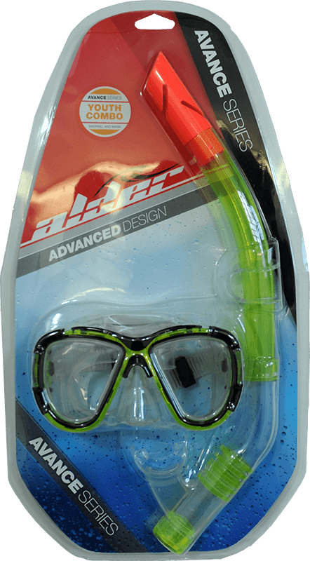 Alder Avance Youth Combo Snorkel Set