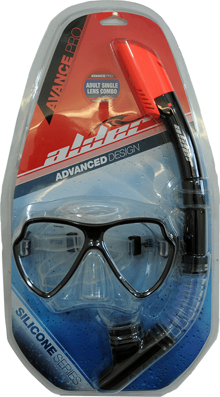 Alder Avance Pro Single Lens Mask and Snorkel