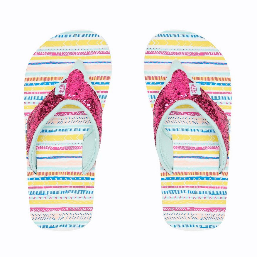 Animal Swish Glitz Girls Flip flop Multi