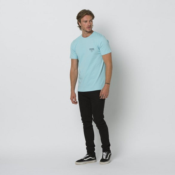 Animal Established Tee Pale Blue