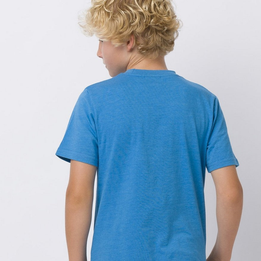 Animal Escape Tee Med Blue