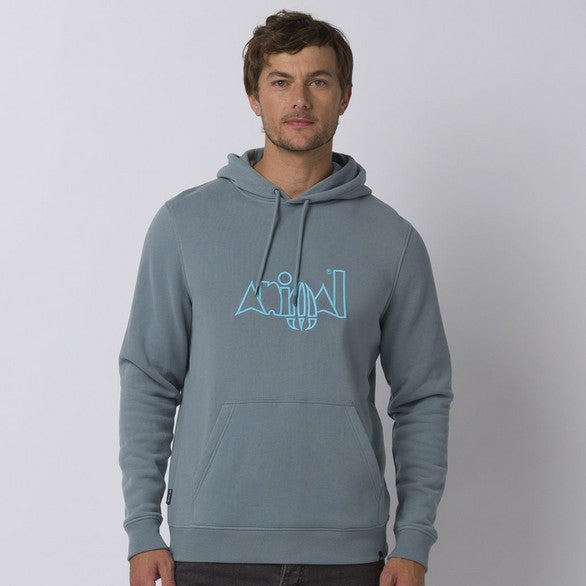 Animal Galves Hoodie Lead Grey