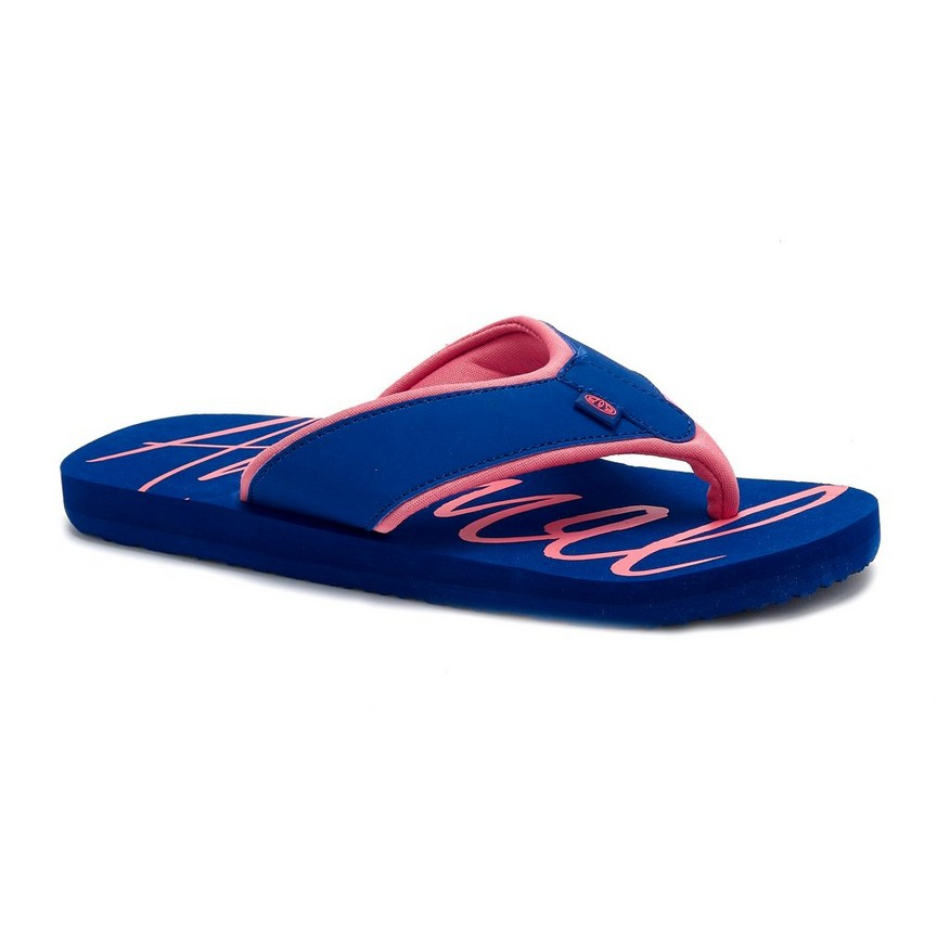 Animal Swish Logo Flip Flop Blueberry 20