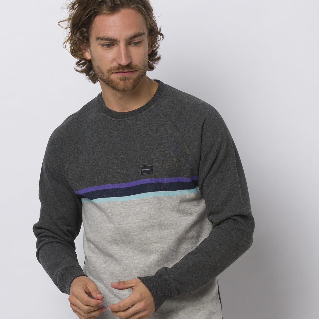 Animal Lakeside Sweat Dark Charcoal