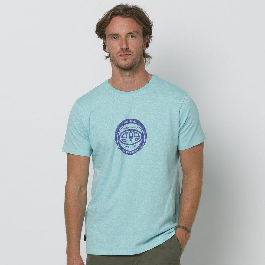 Animal Freeride Tee Pale Blue