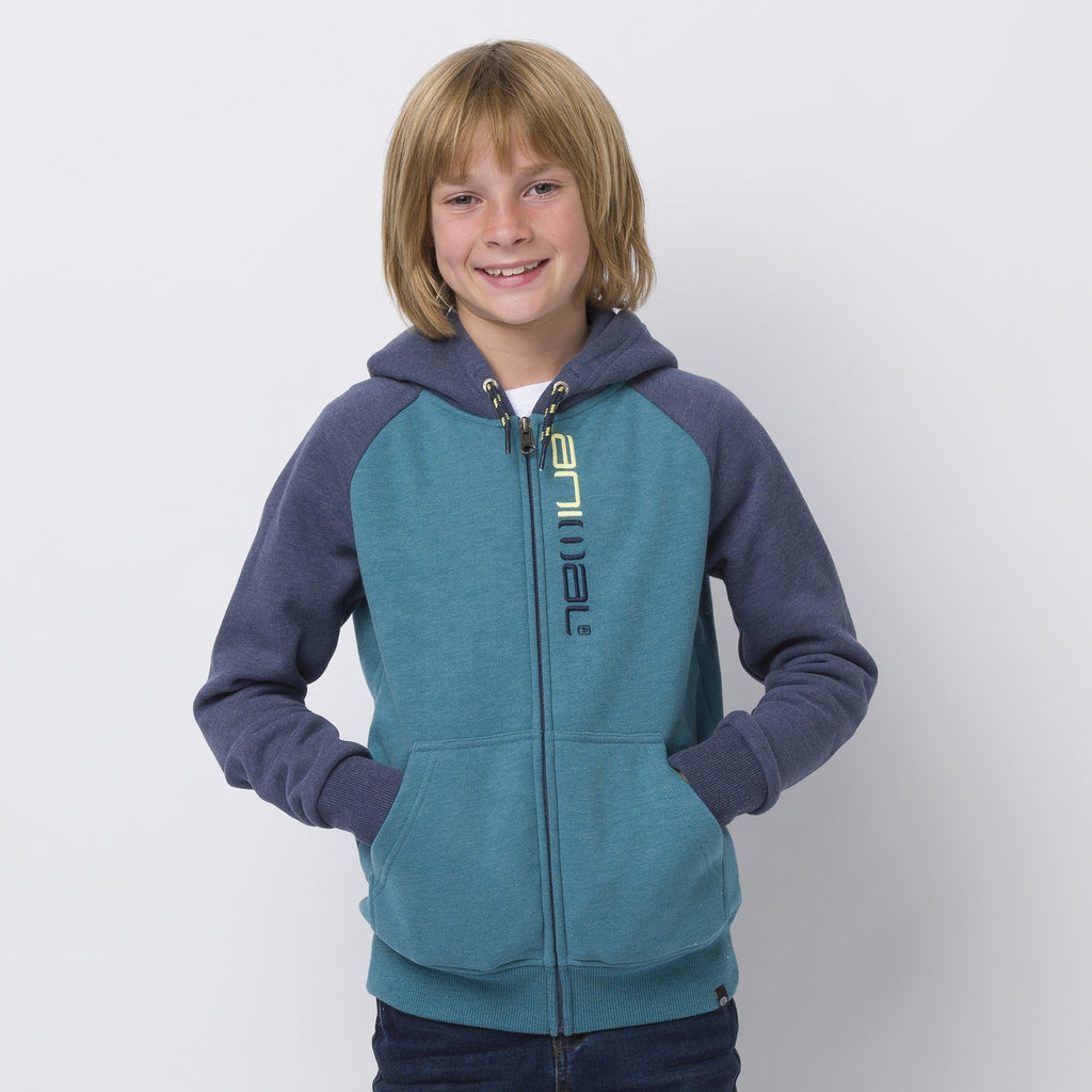 Animal Humming Zip Hoody Colonial Blue