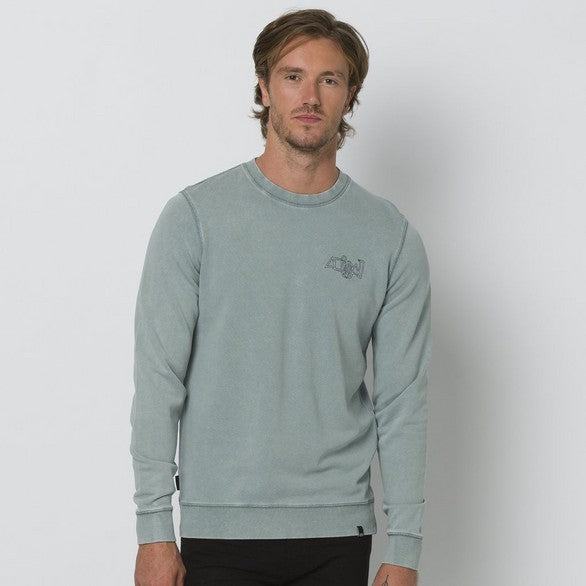 Animal Ower Sweat Lead Grey