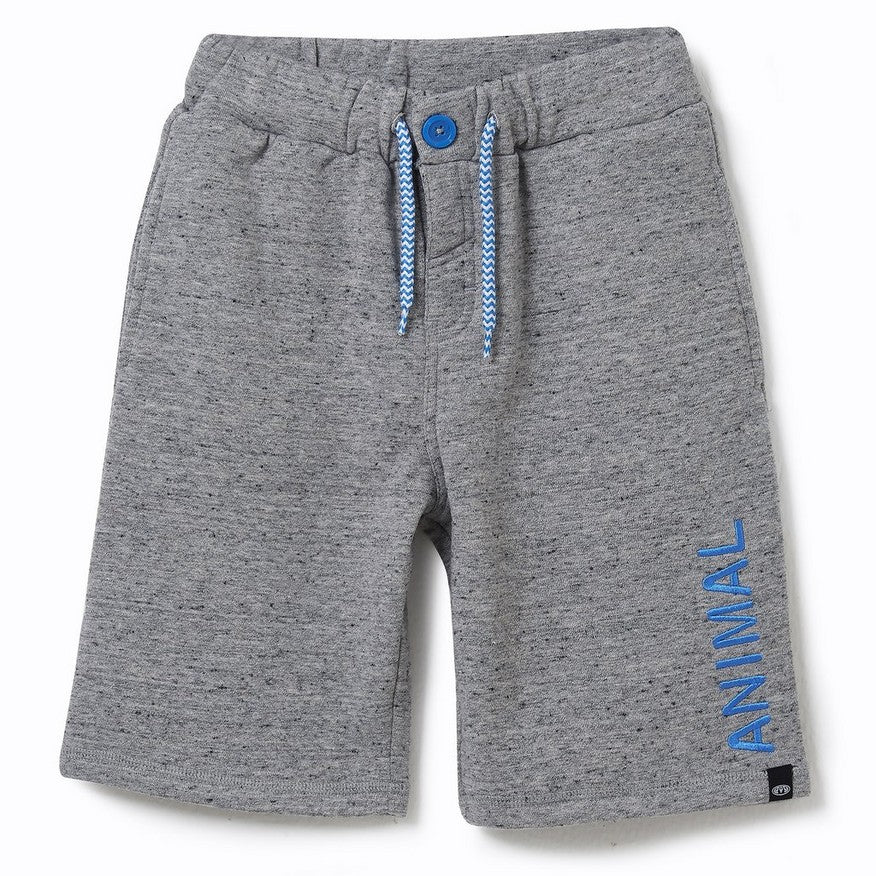 Animal Cove Shorts Grey Marl