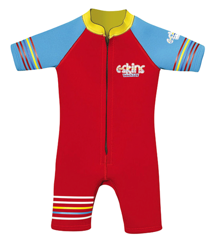C-Skins Fun Baby 3/2 FZ Shortie - Red Cyan Yellow