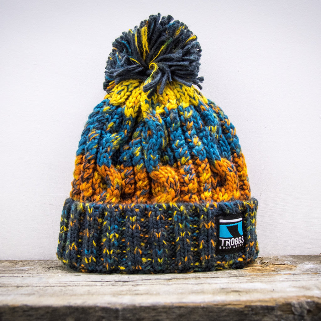Troggs Cable Knit Beanie Autumn