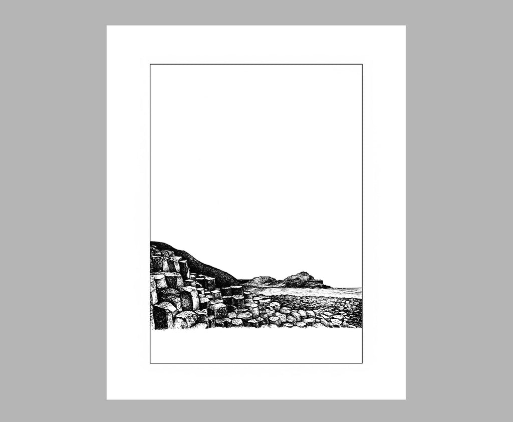 'THE GIANTS CAUSEWAY' PRINT