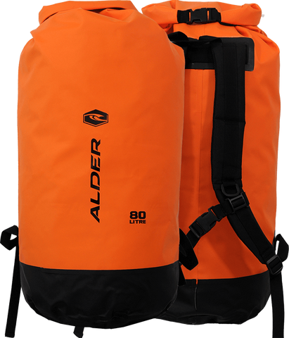 Alder Dry Bag 80 Litre Orange