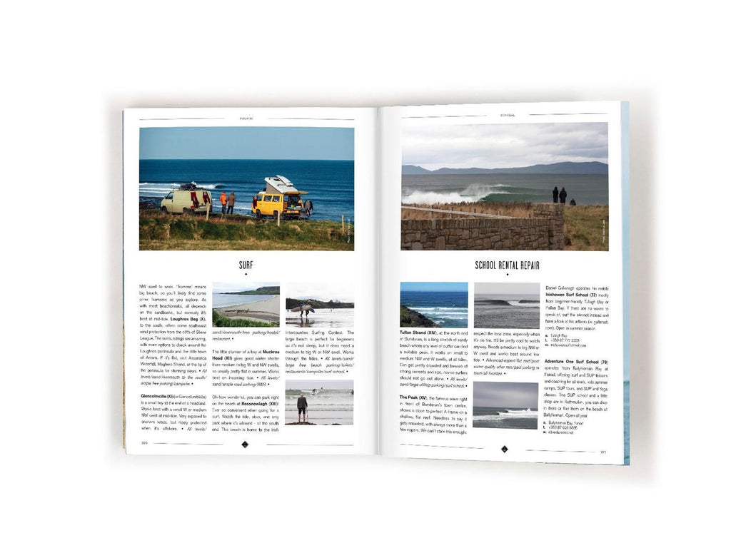 I Love The Seaside THE SURF AND TRAVEL GUIDE TO GREAT BRITAIN & IRELAND