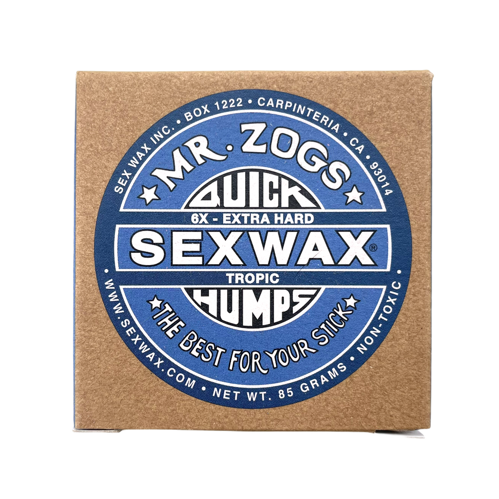 Sex Wax Quick Humps 6X Tropical