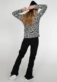 Protest Paco 20 Leopard Print Fleece