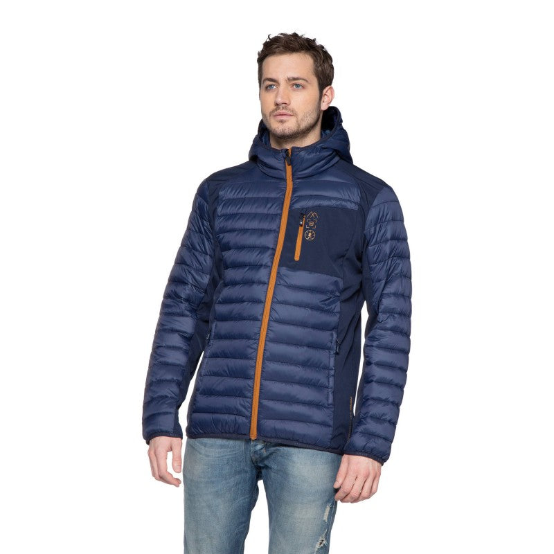 Protest Letton Jacket - Ground Blue