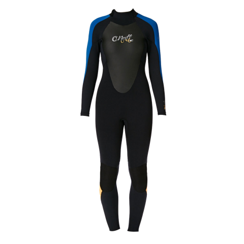 O'Neill Ladies Bahia 5/3 Wetsuits - Black Deep Sea Sorbet