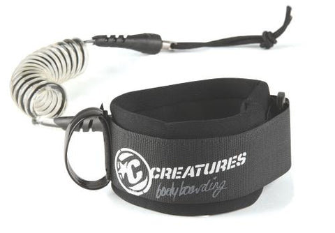 Creatures of Leisure Deluxe Coil Wrist Leash - White Clear