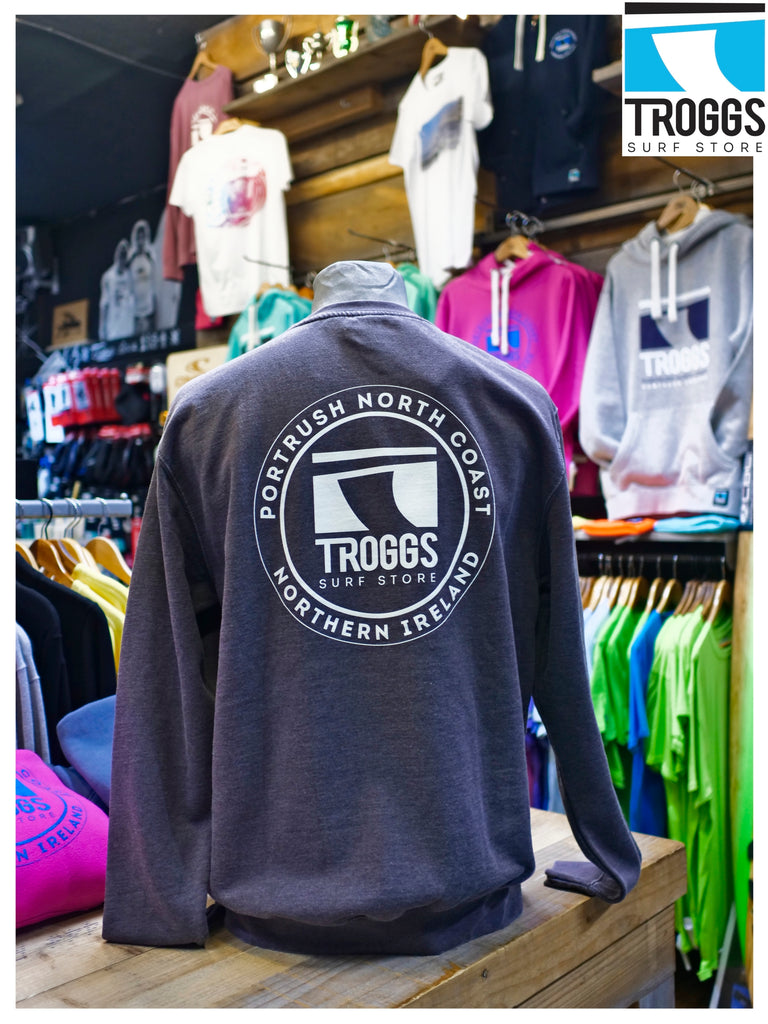 Troggs Washed Patch Sweat