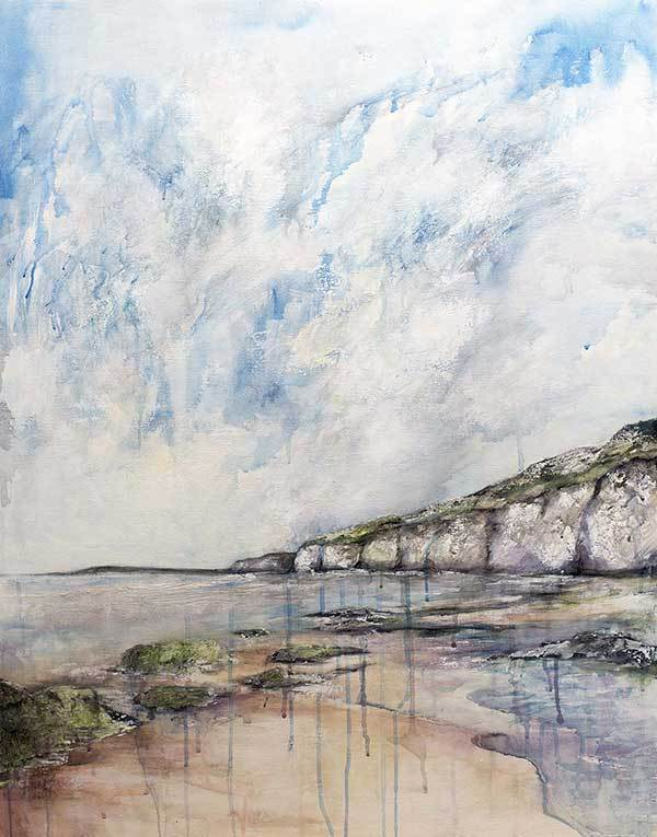 'PURPLE WHITEROCKS' PRINT