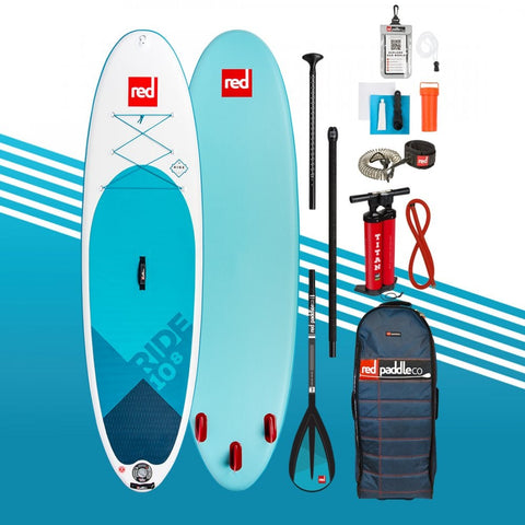2019 Red Paddle Co 10'8 RIDE PACKAGE Alloy 3pc