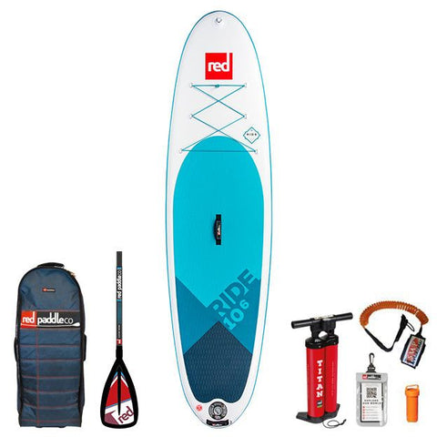 2018 Red Paddle Co 10'6 RIDE PACKAGE Alloy 3pc