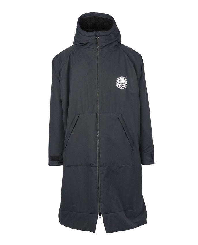 Rip Curl Winter Surf Poncho Black