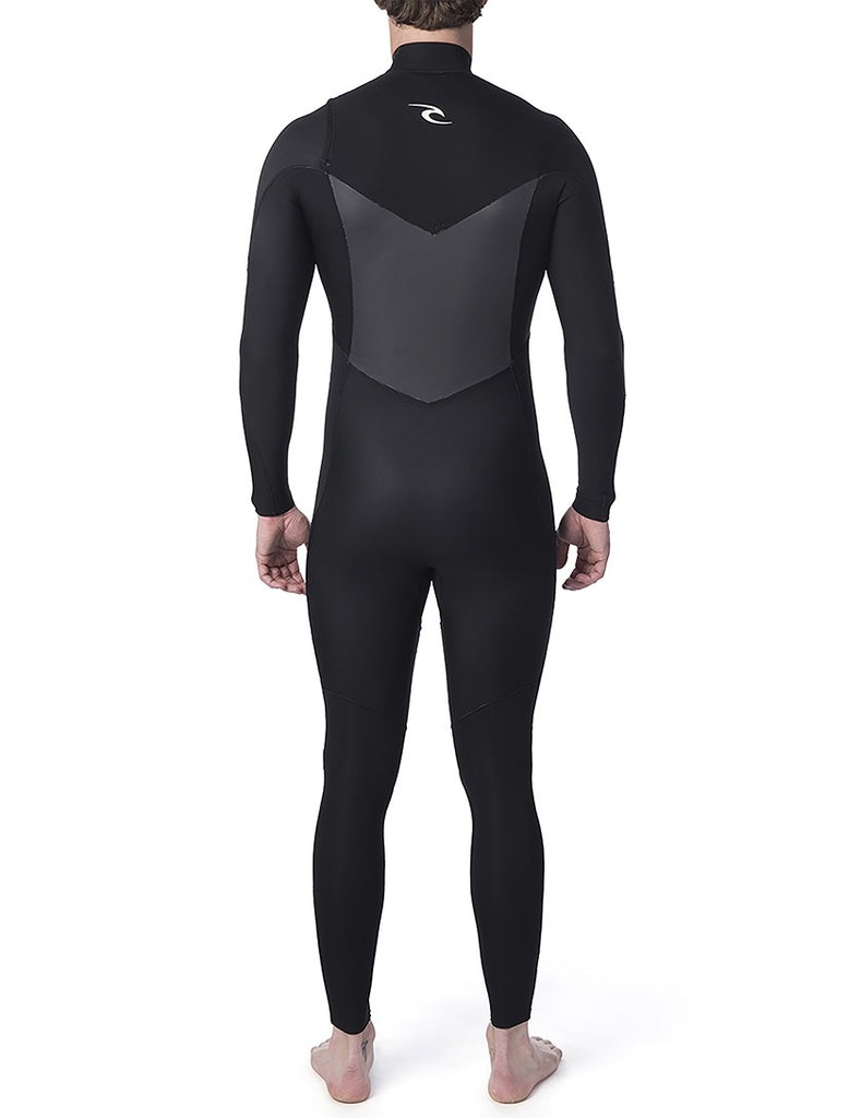 Dawn Patrol Perf 5/3 Chest Zip Wetsuit - Black