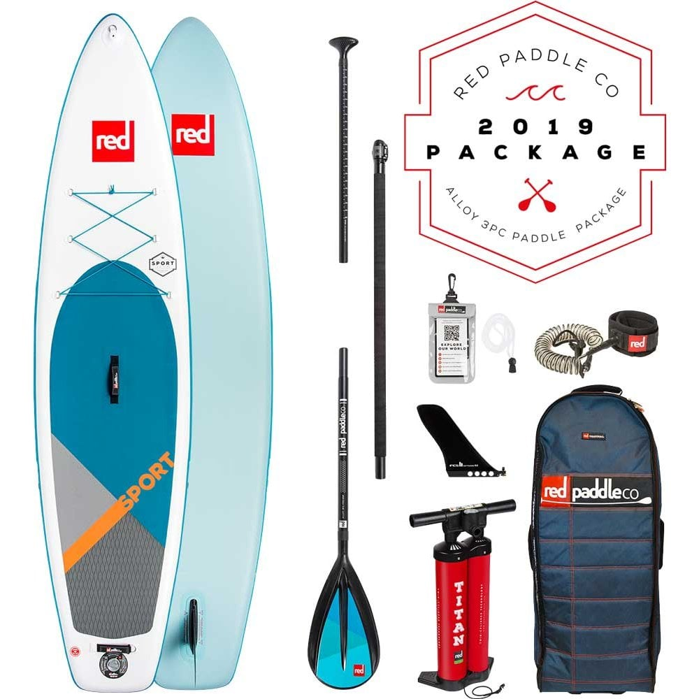 "2019 Ride 11'0"" x 30"" Alloy 3pc Paddle Package"