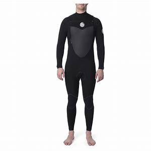 Rip Curl Flashbomb 5.3mm Chest Zip Winter Wetsuit Black