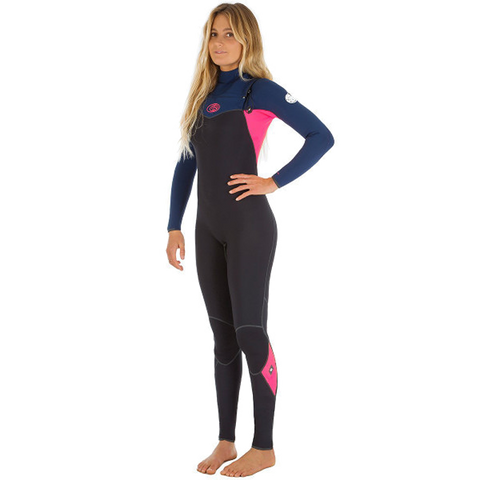 Rip Curl Ladies Flashbomb 53 C/Zip Navy Wetsuit