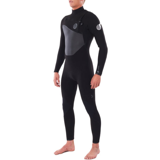 Ripcurl Flashbomb 4/3 C-Zip - Black