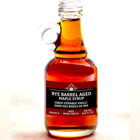 Rye-Barrel Aged Maple Syrup