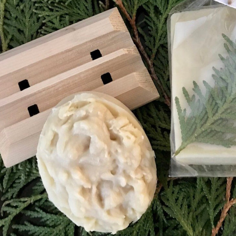 Cedar Sage with Soap Dish
