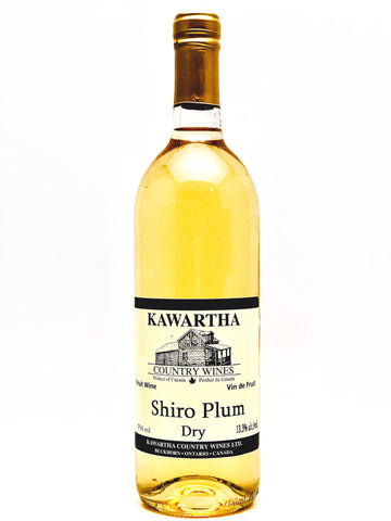 13.3% alc./vol. A bronze medal winner at the All-Canadian Wine Championships. Our Shiro Plum has a wonderfully smooth taste and is an excellent alternative to a traditional white grape wine. In fact, most people assume this wine is a grape wine until we inform them otherwise. It's a light-bodied wine with a dry finish  that is easy to drink and pleasant on the palate. Pairs well with seafood, Japanese, and Thai cuisine. *Vegan & Gluten-free