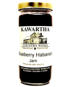 Blueberry Habanero Jam