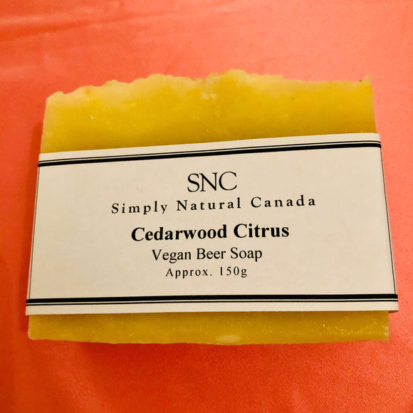 Cedarwood Citrus Soap